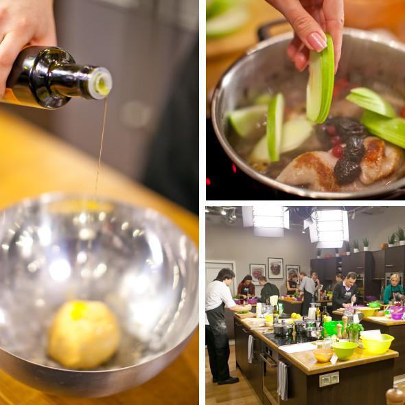 Время есть: Кулинарный мастер-класс в студии Юлии Высоцкой. Изображение № 3.
