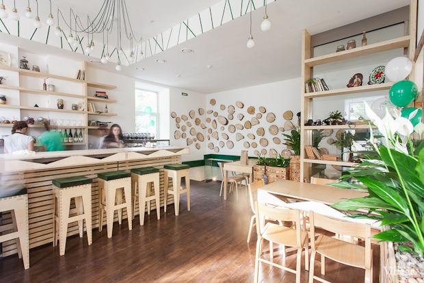 Новое место (Петербург): Вегетарианское кафе «Укроп». Изображение № 20.