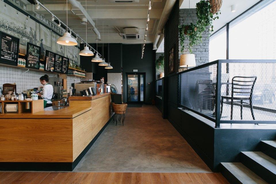 Отделение банка«Открытие», совмещённое с кофейней. Изображение № 17.