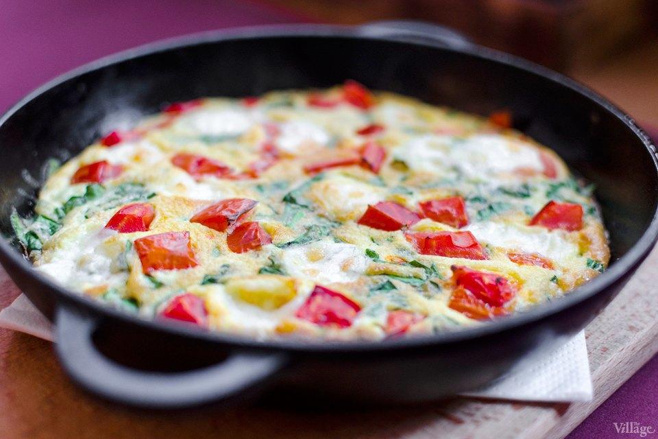 Фриттата с овощами и сыром моцарелла — 39 грн.. Изображение № 7.