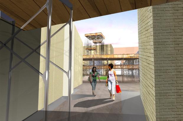 Что делать с электростанцией на Балчуге: 5 проектов студентов МАРХИ. Изображение № 2.