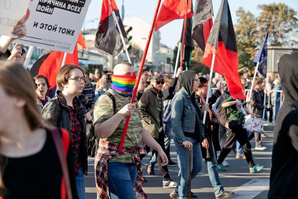 Участники и лозунги «Марша мира». Изображение № 19.