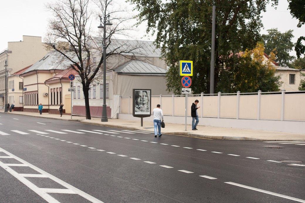 Берегись пешехода:  Большая Ордынка, Мясницкая иПатриаршие пруды после реконструкции. Изображение № 16.