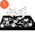 Рецепты шефов: Тёплый салат суткой, капустой, инжиром и яблоками. Изображение № 8.