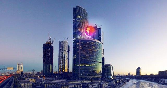 В«Москва-Сити» зажгут «Око Саурона». Изображение №1.