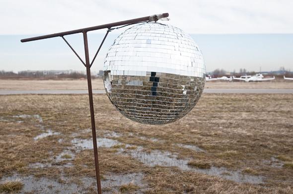 Светоотражающий шар для отпугивания птиц.. Изображение № 18.