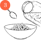 Рецепты шефов: Окрошка с олениной на имбирном квасе. Изображение №5.