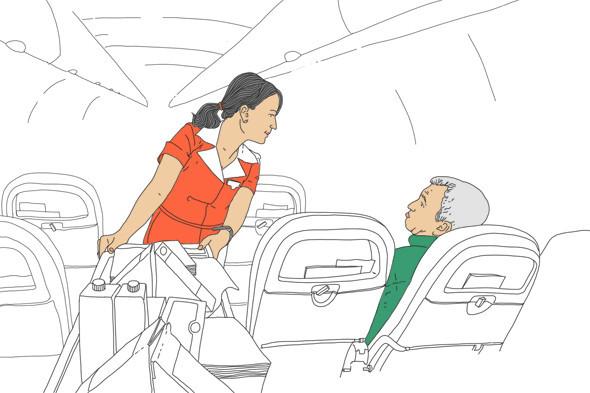 Как всё устроено: Работа стюардессы. Изображение № 5.