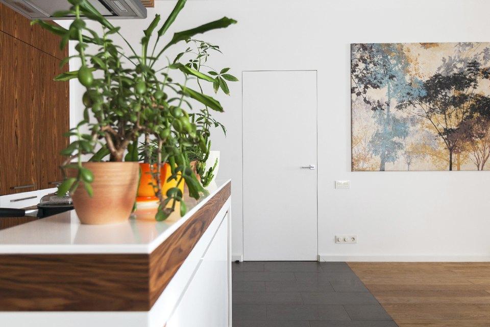 Трёхкомнатная квартира сотделкой изнатуральных материалов . Изображение № 14.