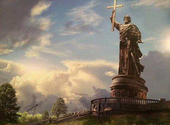 В Москве выбрали дизайн памятника князю Владимиру. Изображение № 1.