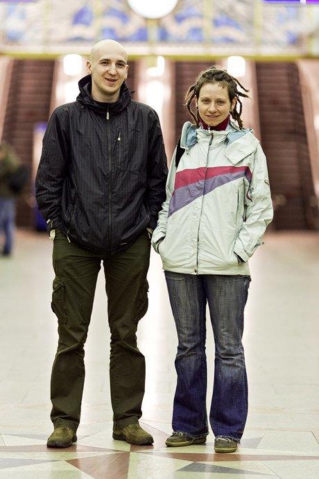 Люди в городе: Первые пассажиры ночного метро . Изображение № 7.