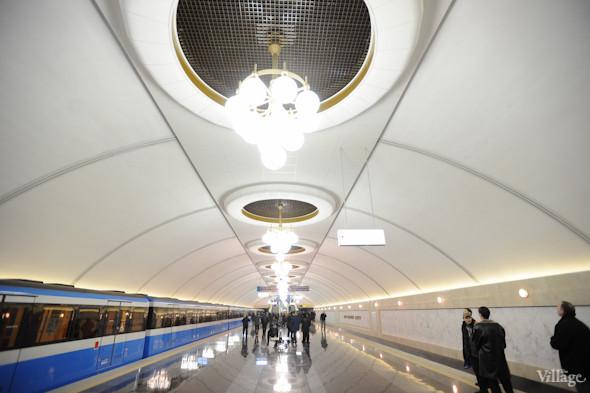 Фоторепортаж: В Киеве открылась новая станция метро. Зображення № 5.
