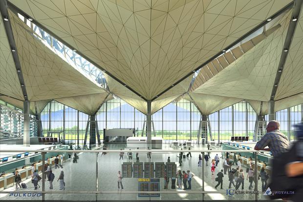 Фоторепортаж: Каким будет новый терминал Пулкова. Изображение № 17.