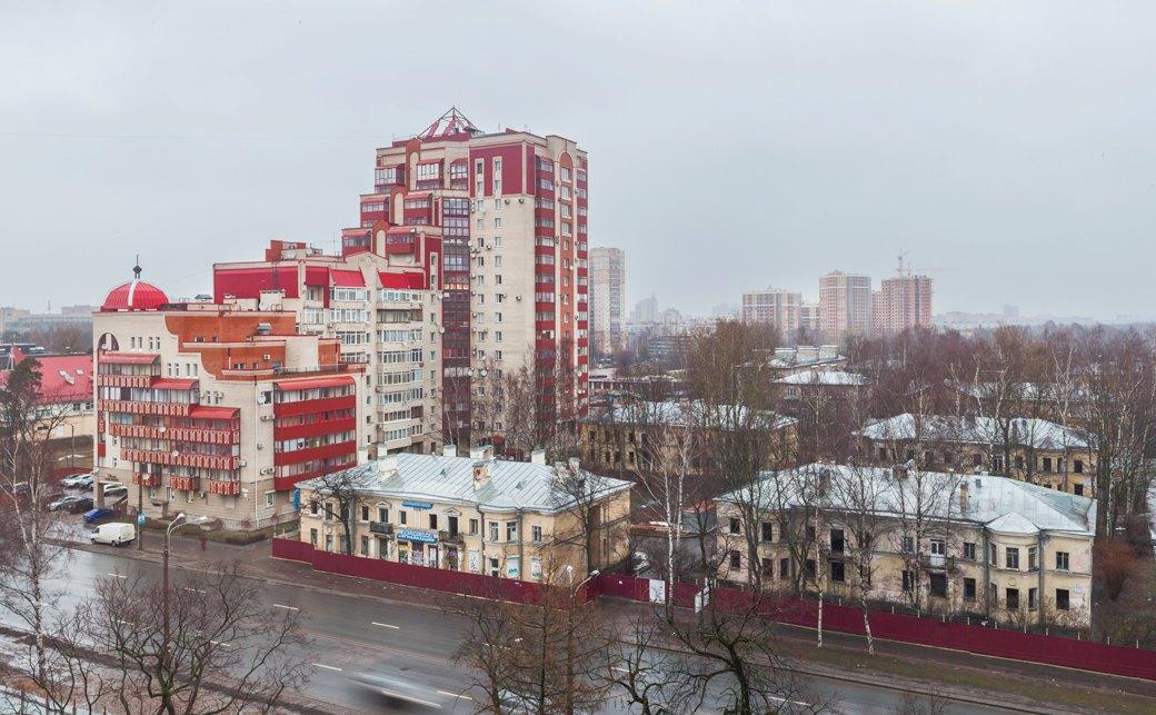 Вид на Старопарголовский жилмассив со стороны проспекта Мориса Тореза. Изображение № 7.