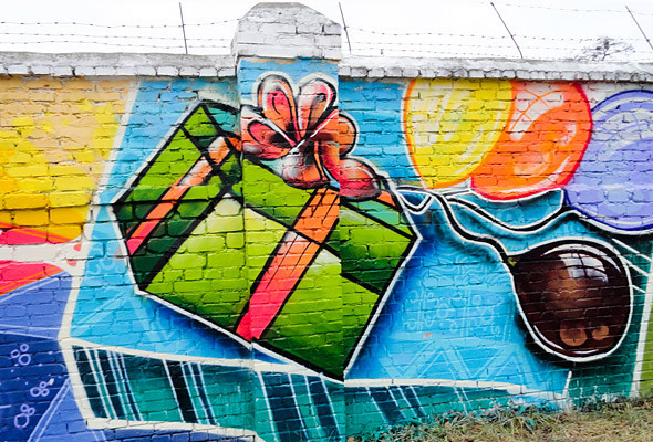 В Киеве появились граффити рекордных размеров. Изображение № 16.