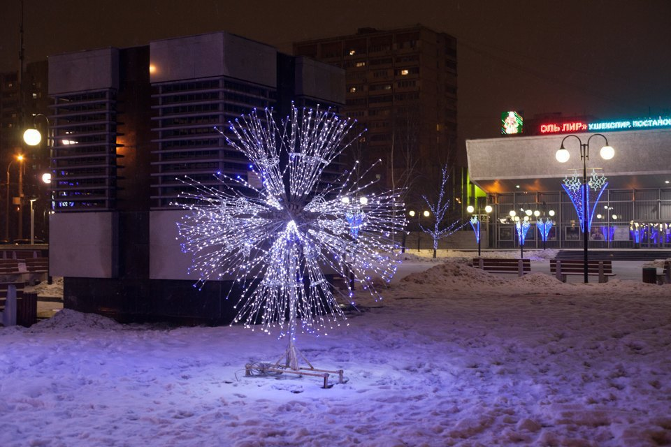 Как украсили Москву кНовому году. Изображение № 31.