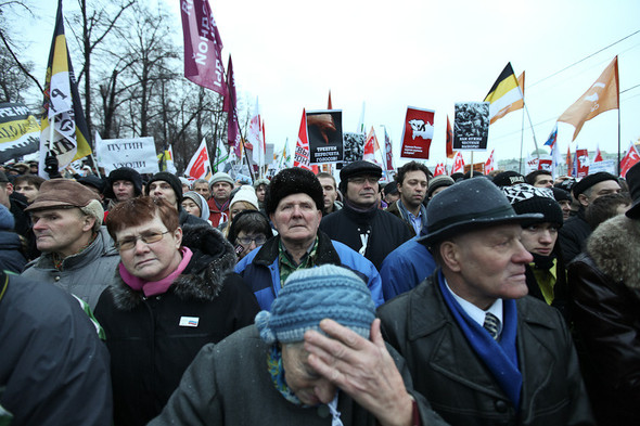 Фоторепортаж: Митинг против фальсификации выборов. Изображение № 28.