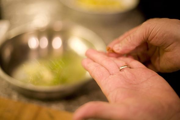 Изображение 18. Фоторепортаж с кухни: Ресторан «Бонтемпи».. Изображение № 30.