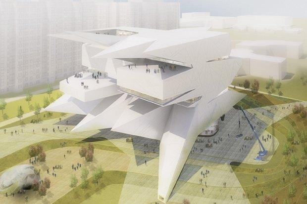 Представлены шесть проектов нового здания Политехнического музея. Изображение № 28.