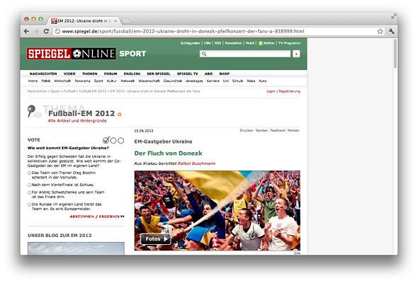 Другим тоном: Иностранные СМИ о Евро-2012 на Украине . Зображення № 3.