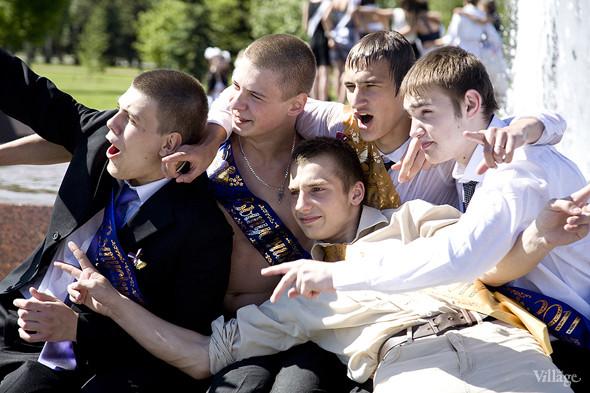 Изображение 30. Фоторепортаж: Последний звонок в Москве.. Изображение № 18.