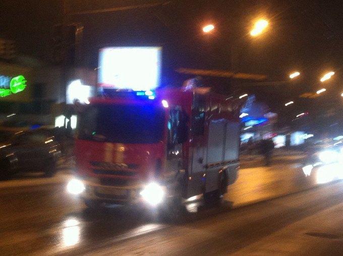 В Москве горит Таганский суд. Изображение № 5.