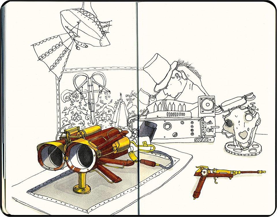 Клуб рисовальщиков: Geek Picnic. Изображение № 13.