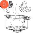 Рецепты шефов: Крем-суп из цукини и мяты с мясом утки и творожным сыром. Изображение № 5.