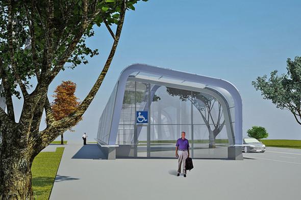 Метрополитен показал дизайн трех новых станций. Изображение № 3.