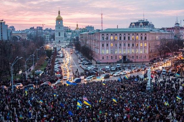 Курс — евро: Как уличные протесты изменили Киев. Изображение № 1.