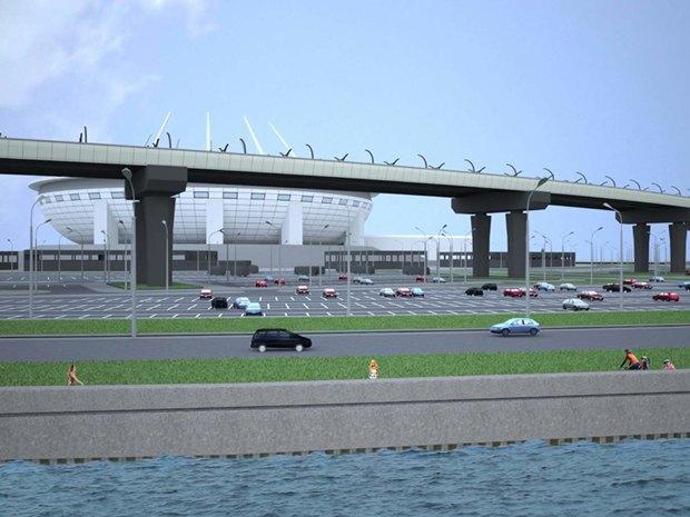 Опубликована часть проекта набережной около «Зенит-арены». Изображение № 2.