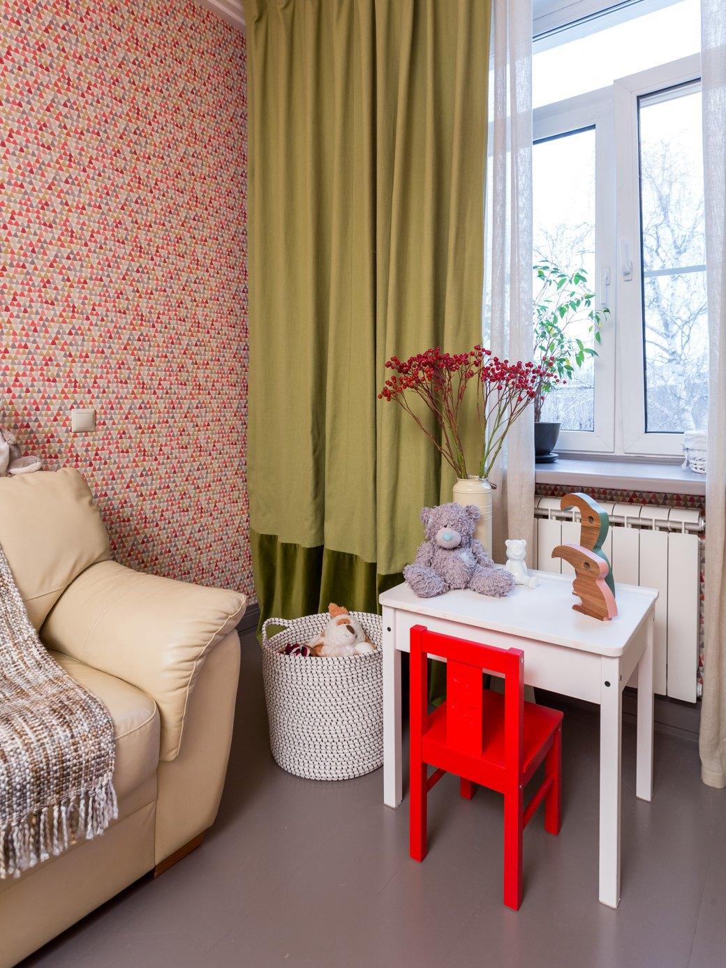 Квартира с яркими акцентами длябольшой семьи. Изображение № 4.