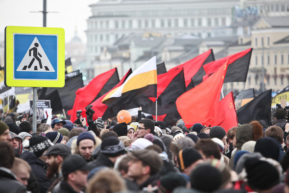Фоторепортаж: Митинг против фальсификации выборов. Изображение № 21.