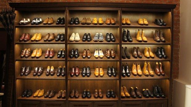 На Марата открылся магазин мужской обуви ручной работы. Изображение № 1.