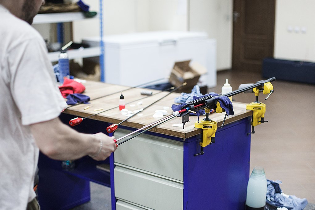 Производственный процесс: Как делают винтовки. Изображение № 30.
