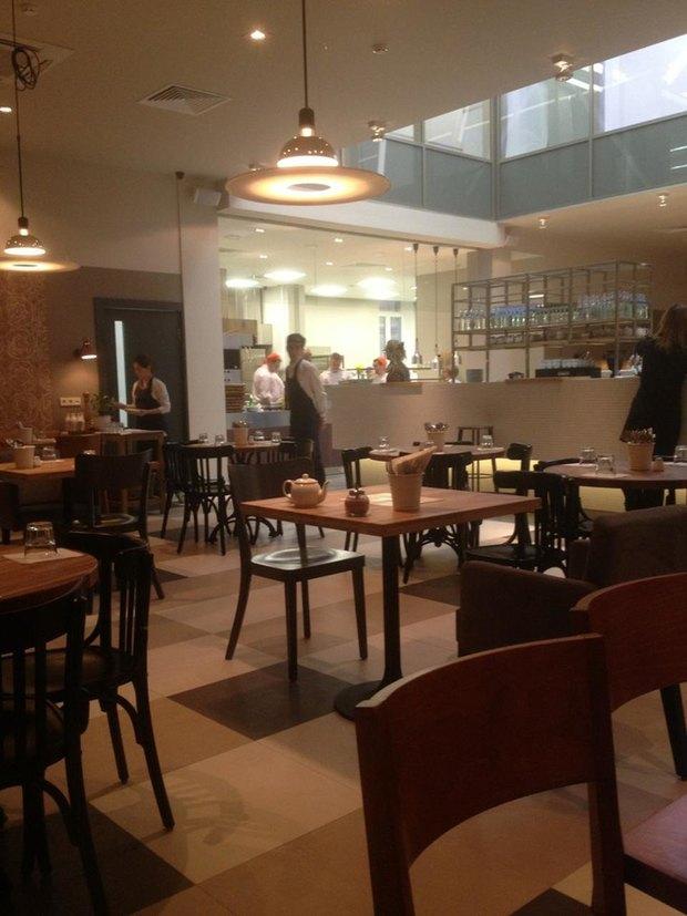 Ресторан «Пробка» переехал в бизнес-центр «Газпрома». Изображение № 2.