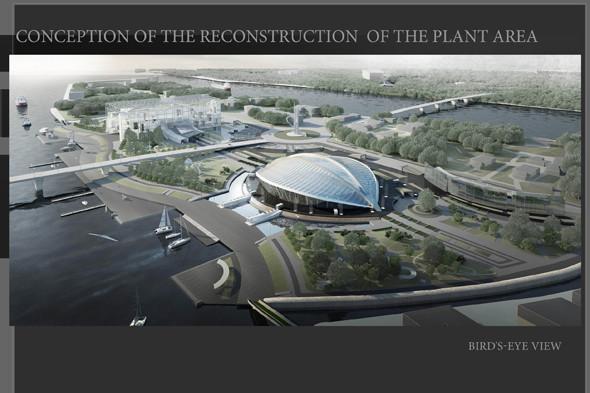 План по созданию многофункционального спортивного комплекса на территории завода «Алмаз». Изображение № 6.