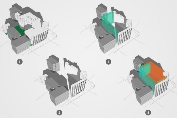 Все конструкции ЦУМа, кроме фасадов, разберут. Зображення № 1.