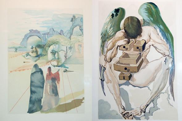 Иллюстрации Пикассо, Дали и Миро в Пушкинском музее. Изображение № 5.