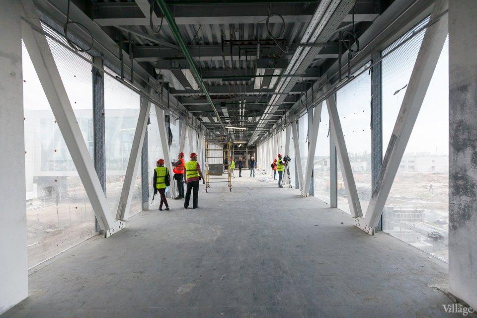 Фоторепортаж: Новый аэропорт изнутри. Изображение №15.