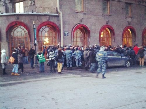 Онлайн-трансляция: Митинги в Москве и Петербурге. Изображение № 29.