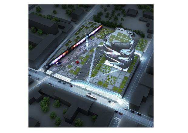 Центр современного искусства переедет на Бауманскую. Изображение № 3.