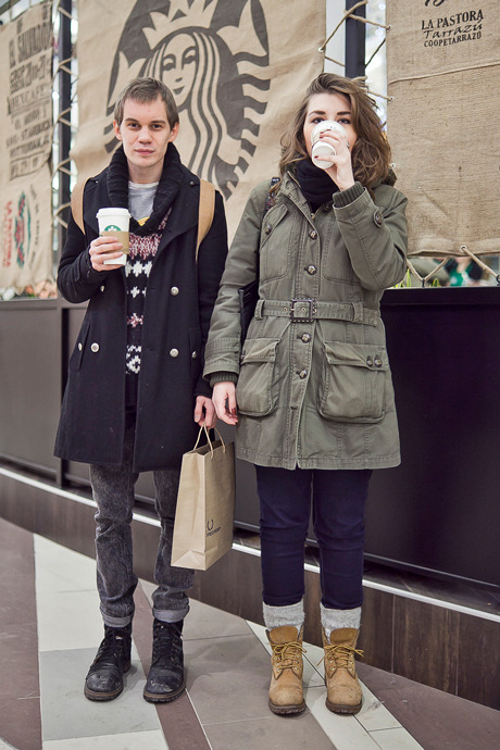 Люди в городе: Первые посетители Starbucks вСтокманне. Изображение №23.