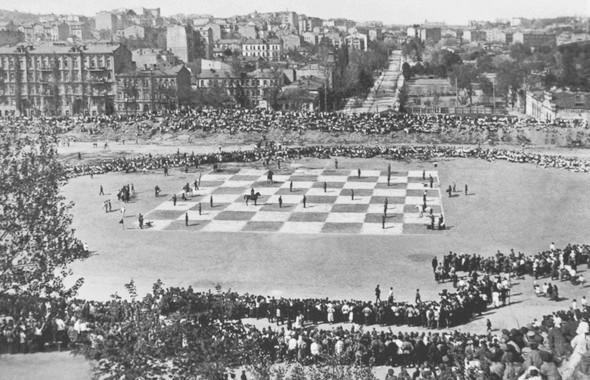 «Красный стадион» 1923 года — предшественник НСК «Олимпийский». Изображение № 19.