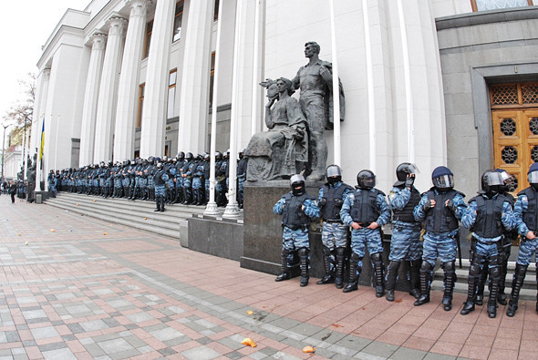 Copwatch: Действия милиции на акции «Вперёд!» возле Верховной рады. Зображення № 7.