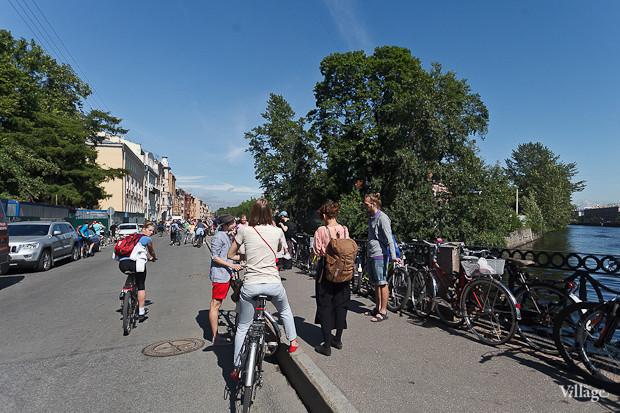 Фоторепортаж: Велопробег «За велогород». Изображение № 13.