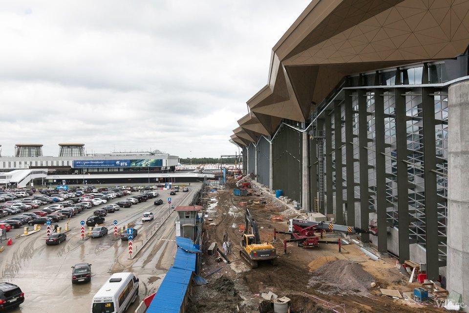 Фоторепортаж: Новый аэропорт изнутри. Изображение № 2.