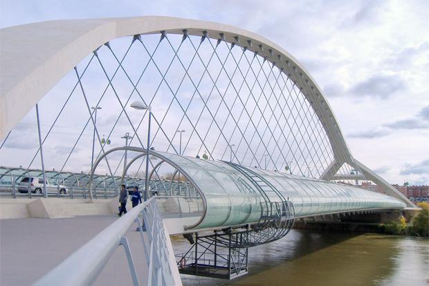 Карлос Мирет — Millenium Bridge в Сарагосе (Испания) . Изображение № 2.