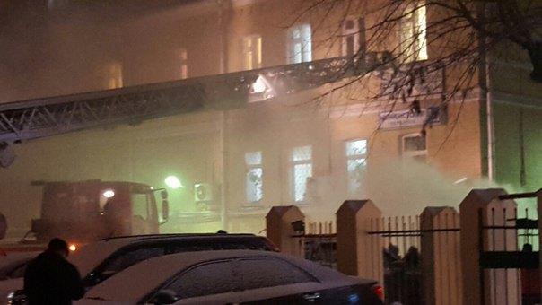 В Москве горит Таганский суд. Изображение № 3.