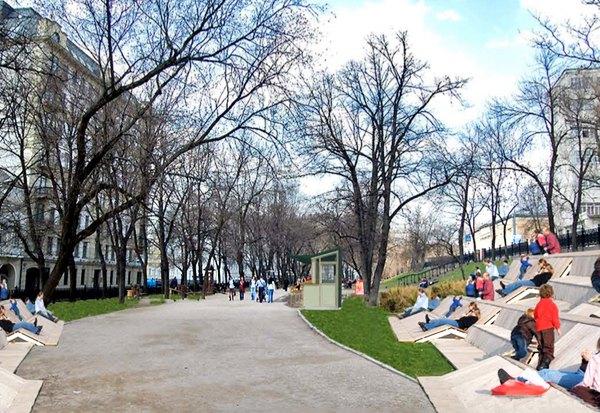 Реконструкция бульваров: Проект Wowhaus. Изображение № 5.